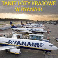 Ryanair w Polsce: krajówki już od 19 PLN!