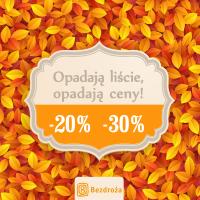 Bezdroża: przewodniki do 30% taniej (jesienna promocja)
